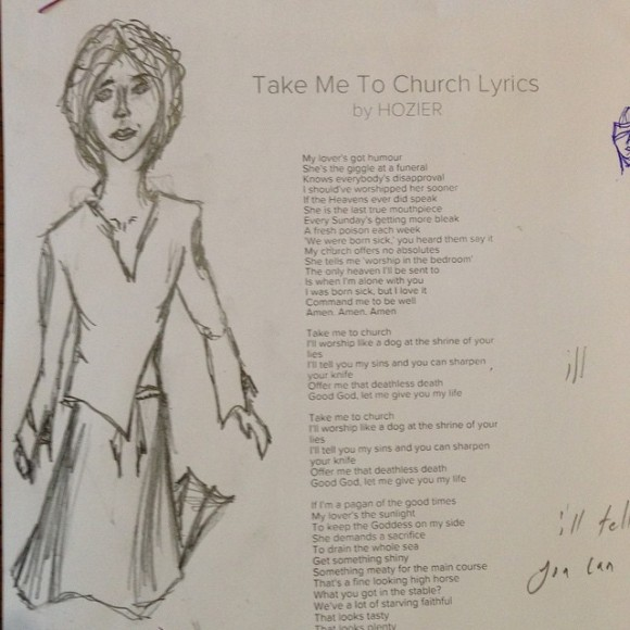 a not so good sketch inspired by the song #hozier#takemetochurch#sketch#art#pencil#drawing Another not so good a drawing but one inspired by same song #drawing#sketch#art#pencil#hozier#takemetochurch