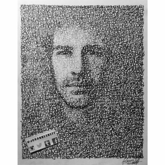 """My new drawing: @hozier emojiemoji🏼️emoji️emoji️ emoji️ lyrics I've used: 1 """"Take Me To Church"""" 2 """"Angel Of Small Death + The Codeine Scene"""" 3 """"Work Song"""" emoji Hope you like it! So pls now: help me and tag him in the comments below - would be amazing if he could see itemoji🏼emoji he is one of my favorite artists - huge inspiration for me. So would be great! Thank you emoji🏼️ #new #drawing #hozier #takemetochurch #artist #singer #artwork #art #artfido #nawden #worksong #vevo #portrait #pencil #on #paper #blackandwhite #musician #johannesneff #grammy #irish"""