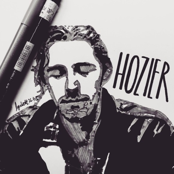 His voice is so amazing! #art #doodle #illustration #popart #stencilart #portrait #ink #drawing #handdrawn #celebrities #singer #movie #dailyarts #arts_gallery #artist_features #artsanity #arts_help #sketchdaily #fanart #hozier #takemetochurch #song #lyrics #songwriter #music #someonenew #blues #soul #indierock #worksong