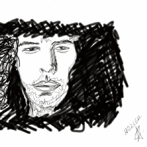 Now you see how bad i work with tablets. It's not even near enough his face. Been listening to his album all day long and currently am happy  . 'Someone New' is  asdfghjkl. This is my second post today, wow i am on fire.#blessthealbum#hozier 2d Read more at http://websta.me/p/995592116928757451_1659863566#mD4QoF4Ai3tRj0Zj.99