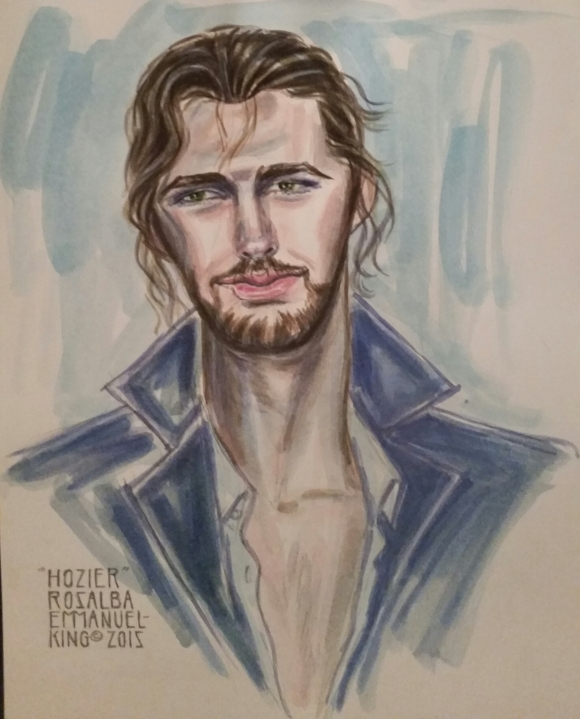 #Hozier #FanArt #Watercolor