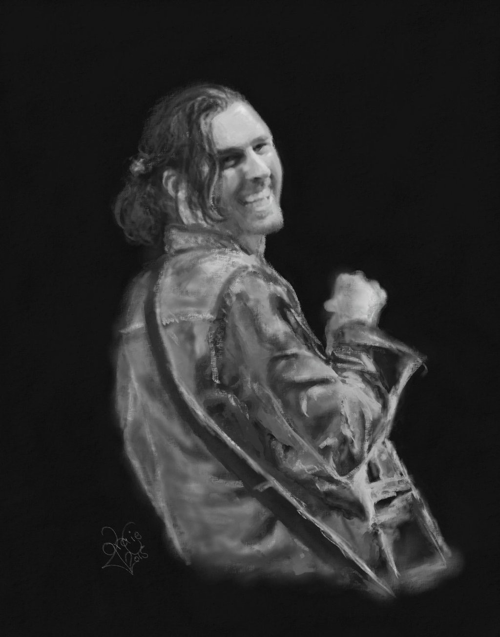 Hozier Art by Gracie @Jupiteralmalthea | HOZIER FAN ART