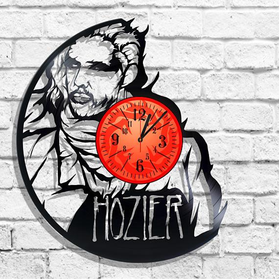 Hozier wall clock, Etsy
